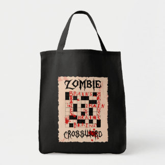 Zombie's Crossword Bag