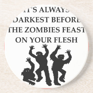 ZOMBIES DRINK COASTERS