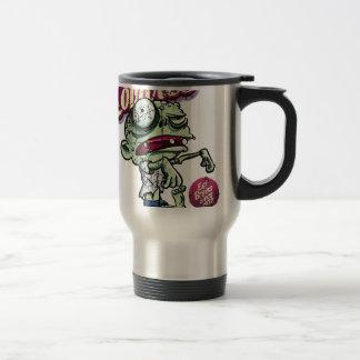 Zombies eat Brains 15 Oz Stainless Steel Travel Mug