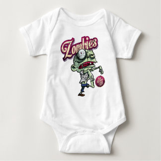 Zombies eat Brains Baby Bodysuit