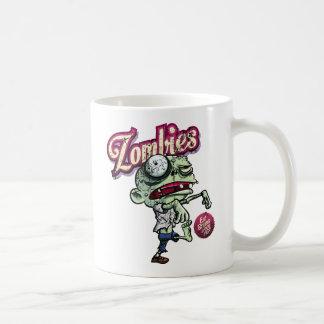 Zombies eat Brains Classic White Coffee Mug