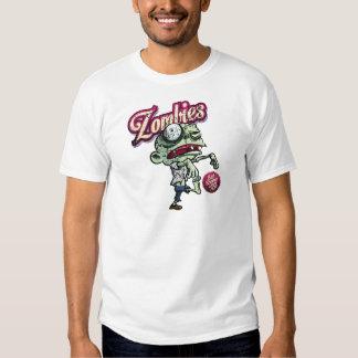 Zombies eat Brains Tee Shirt
