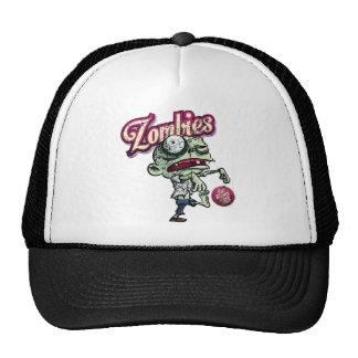 Zombies eat Brains Trucker Hat