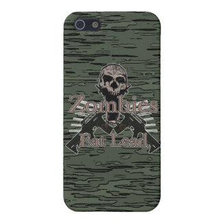 Zombies Eat Lead iPhone 5/5S Covers