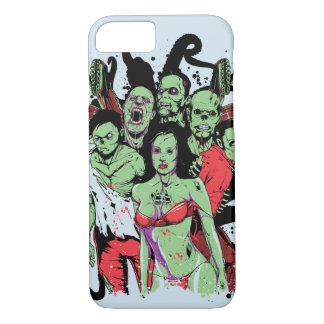 Zombies Glossy Phone Case
