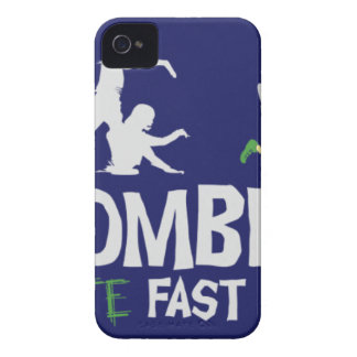 Zombies HATE Fast Food iPhone 4 Cover