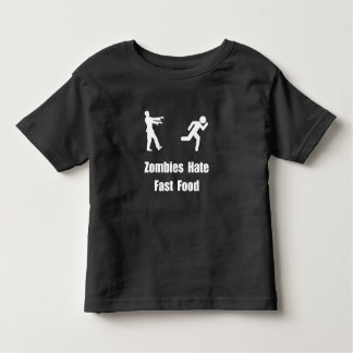 Zombies Hate Fast Food Shirts