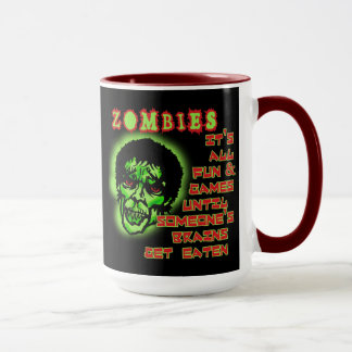 Zombies Humor Mug
