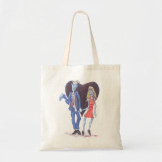 Zombies in Love Budget Tote Bag