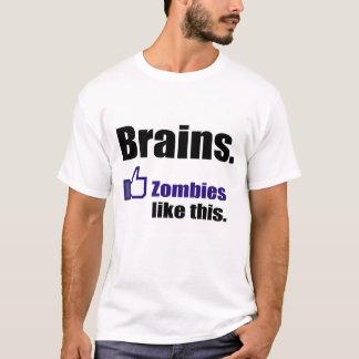 "Zombies ""LIKE"" Brains T-Shirt"