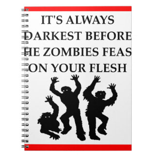 ZOMBIES NOTEBOOK
