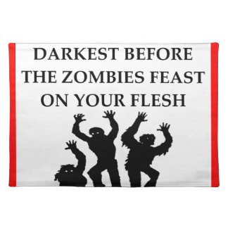 ZOMBIES PLACEMAT