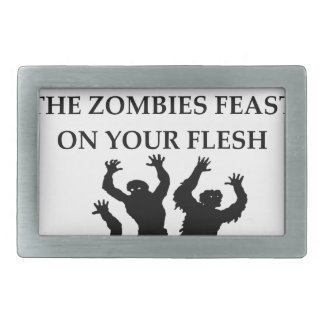 ZOMBIES RECTANGULAR BELT BUCKLES