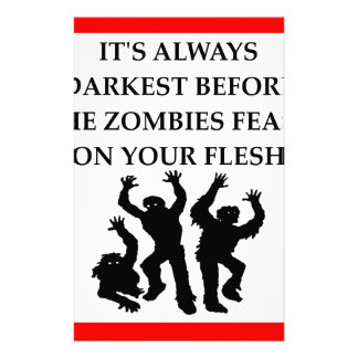 ZOMBIES STATIONERY