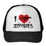 Zombies Trucker Hats