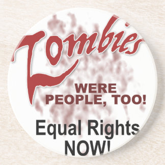 zombies were people too coasters