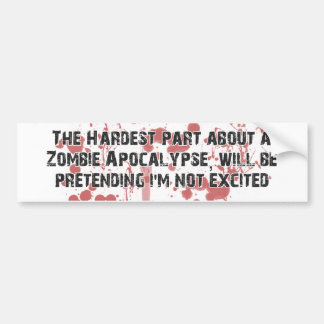 ZombieVerse Bumper Stickers
