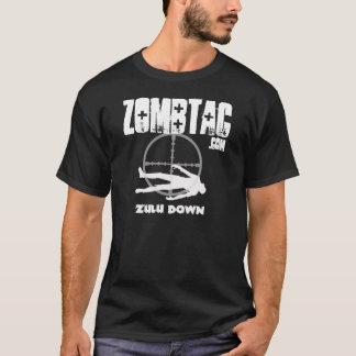 Zombtac Zulu Down Dark T-Shirt