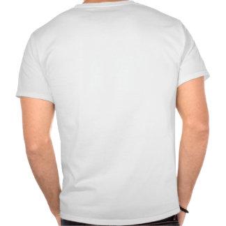 Zone de largage de parachutisme t-shirt