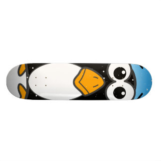 Zoned Out Penguin Skateboard