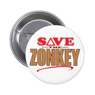 Zonkey Save 2 Inch Round Button