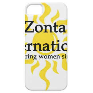 Zonta International Sun Shirt iPhone 5 Case