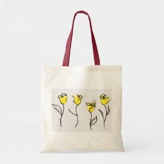 Zonta Yellow Rose Tote bag