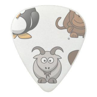 Zoo Animals Acetal Guitar Pick