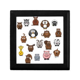 Zoo Animals Gift Box
