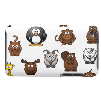 Zoo Animals iPod Touch Cases