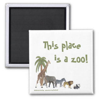 Zoo Animals Magnet