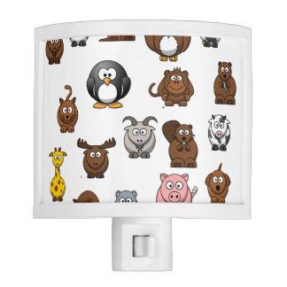 Zoo Animals Night Light