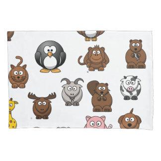 Zoo Animals Pillowcase