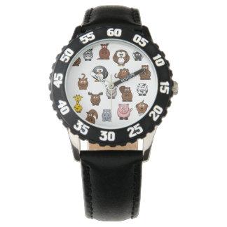 Zoo Animals Wristwatches