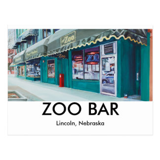 Zoo Bar postcards