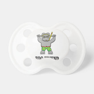 zoo friend hippo pacifier