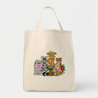 ZOO Girl Tote Bag