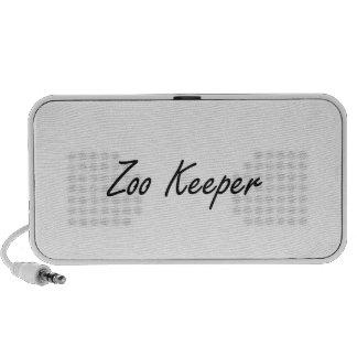 Zoo Keeper Artistic Job Design Laptop Speakers
