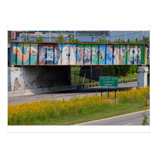 Zoo Mural Postcard