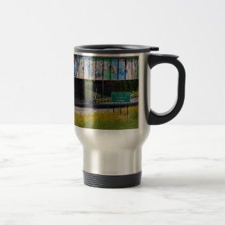 Zoo Mural Travel Mug