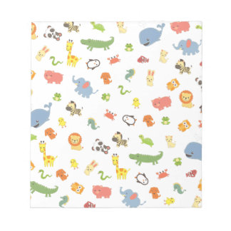 Zoo Notepads