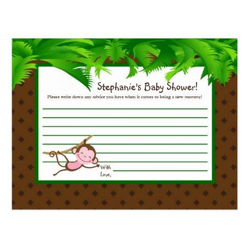 Zoo programmable de safari de jungle de MonkeySwin Cartes Postales