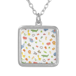 Zoo Silver Plated Necklace