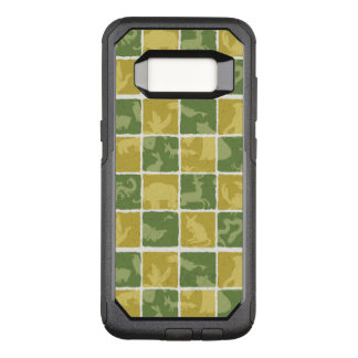 zoo themed pattern OtterBox commuter samsung galaxy s8 case