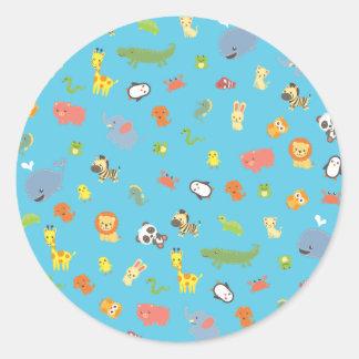 ZooBloo Classic Round Sticker