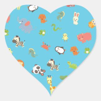 ZooBloo Heart Sticker