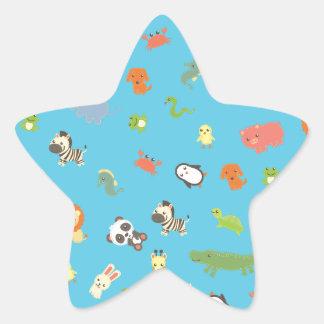 ZooBloo Star Sticker