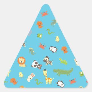 ZooBloo Triangle Sticker