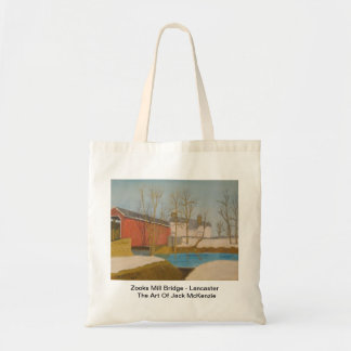 Zooks Mill Bridge - Lancaster Tote Bag