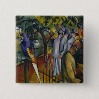 Zoological Garden I 2 Inch Square Button